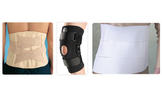Sports - Wrist and knee braces